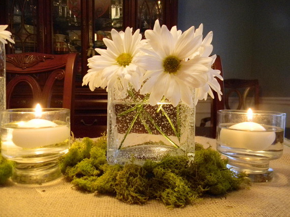 Beautiful centerpiece ideas for your table jennifer Simple flower decoration ideas